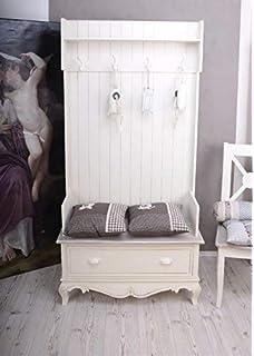 Provence Landhausmobel Elegante Garderobe Weiss Landhaus Barock Mit