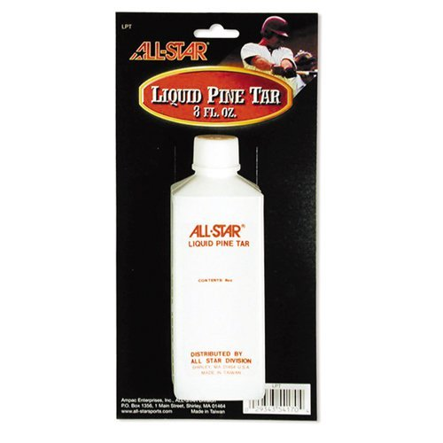 Baseball/Softball Bat 8oz Liquid Pine Tar (Reusable Plastic Bottle) by Authentic All-Star Sports Shop by Authentic All-Star Sports Shop