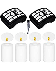 I clean 6 Packs Replacement Filters for Shark Shark NV501 & Rotator Pro Lift-Away NV500,NV501, NV502, NV505, Compare to Part # Xff500 Xhf500 [Not fit Rotator NV650 NV755 Series]