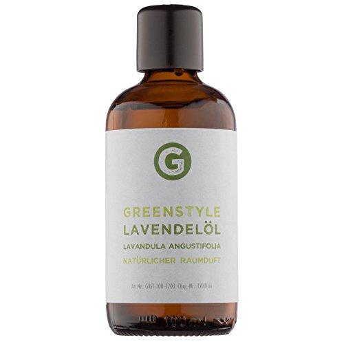 Lavendelöl - 100% naturrein - ätherisches Öl (100ml) von greenstyle