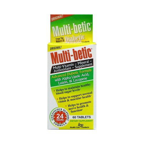 HEALTH CARE PRODUCTS MULTI-BETIC VITAMINS, 60 CAP - Buy Packs and Save (Pack of 2) from HEALTH CARE PRODUCTS