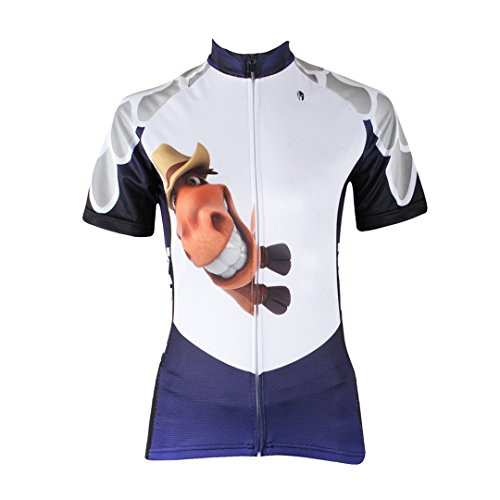Pony Sleeve Women's Cycling Breathable Jacket Clothing Mountain Jersey Moisture Multicolore Wicking Dry Shirt Quick Outdoors Decoration Top Bike Short Sports 55AwqExT
