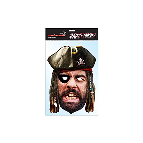 Premier Pirate Costumes (Pirate Historical Face Card Mask)