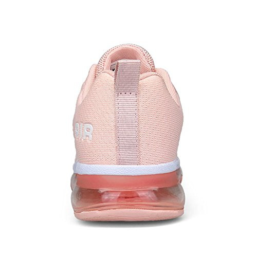 Ginnastica Unisex Sneakers Fitness Running Uomo Sportive Scarpe Shoes Rosa Da Basse Donna Casual 8xfrF8w