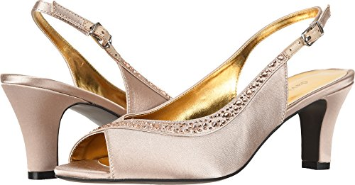 David Shoes Slingback Womens - David Tate Women's Dainty Champagne 10.5 D US