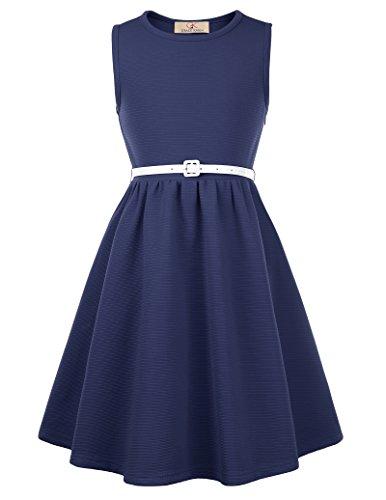 Kids Vintage Dresses for Mother&Child Tea Party 11yrs CL0482-2