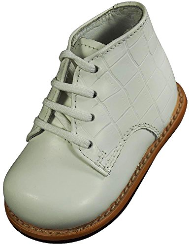 (Josmo - Baby Walker Leather Dress Shoe, White Croco 38222-6.5MUSToddler)