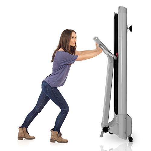 Goplus 1.5HP Electric Folding Treadmill Portable Motorized Running Machine Home Gym Cardio Fitness w/App (Silver) by Goplus (Image #3)