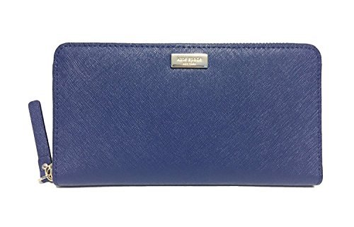 Kate Spade Newbury Lane Neda Leather Wallet (Ocean Blue)
