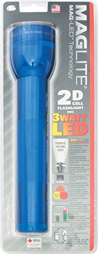 MagLite LED 2-Cell D Flashlight, Blue