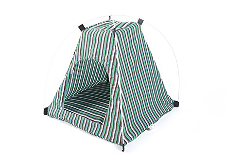 JHere Portable Folding Dog House Sun Beach Tent for Indoor,Outdoor Waterproof Pet Tent Dog Bed Crate for Summer Small Size Dogs and Cats