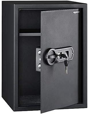 AmazonBasics - Caja fuerte con lector biométrico de huella dactilar - 50 l: Amazon.es: Bricolaje y herramientas