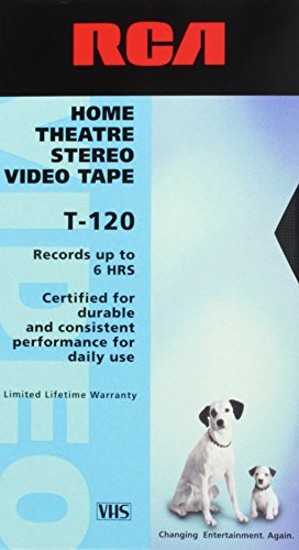 RCA Home Theatre Stereo Video Tape T-120 (Stereo Systems Rca)