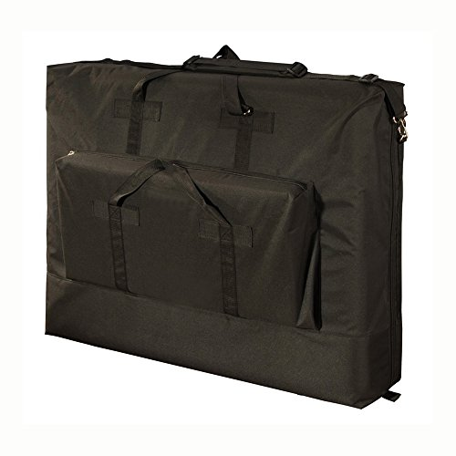 Royal Massage Deluxe Black Universal Oversized Massage Table Carry Case – 30″