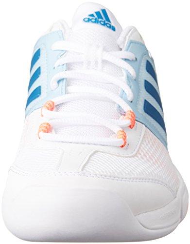 adidas Barricade Club Cpt W, Zapatillas de Tenis para Mujer Blanco (Ftwbla / Azuuni / Rojdes)