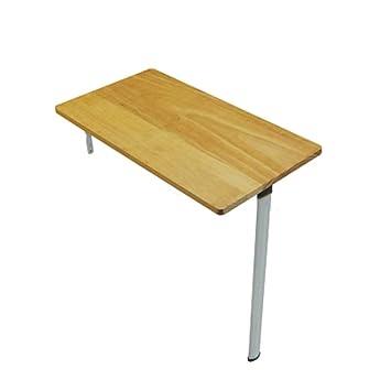 MU Lazy Table- Wood Drop-Leaf Mesa de Pared, Mesa de Comedor y ...