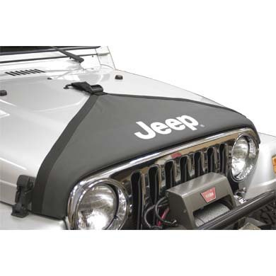 Jeep 82208110 V-Style Hood Bra by Chrysler Jeep Products Replacement