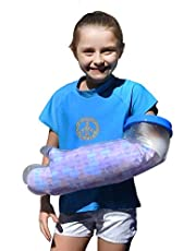 COV-A-CAST Waterproof Cast Cover Arm, Cast Covers for Shower arm Kids, Waterproof cast Protector for Shower Kids arm, Pediatric cast Bag Sleeve Kids for Swimming, Showering Child Toddler Youth
