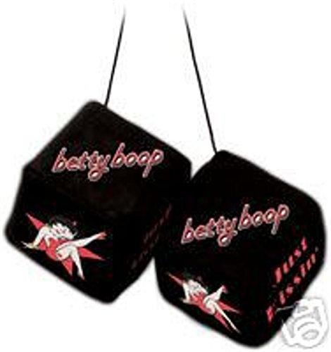 Betty Boop Star Fuzzy Dice #925