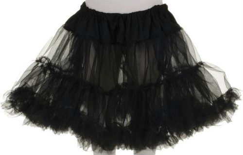 Easy Black Swan Halloween Costume (Little Girls Tutu Skirt)