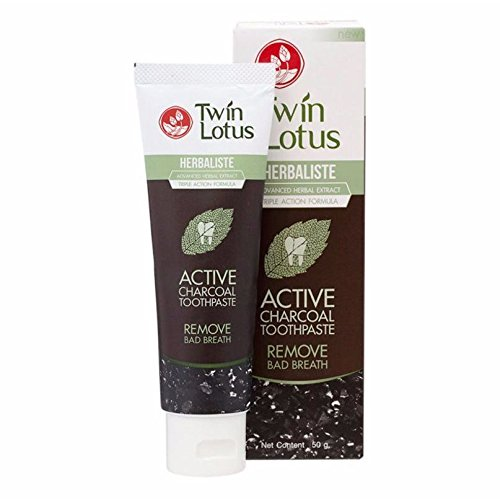 Twin Lotus Herbaliste Charcoal Toothpaste product image