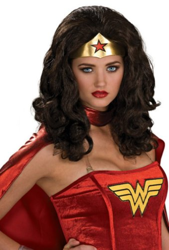 Wonder Woman Wig Costume Accessory