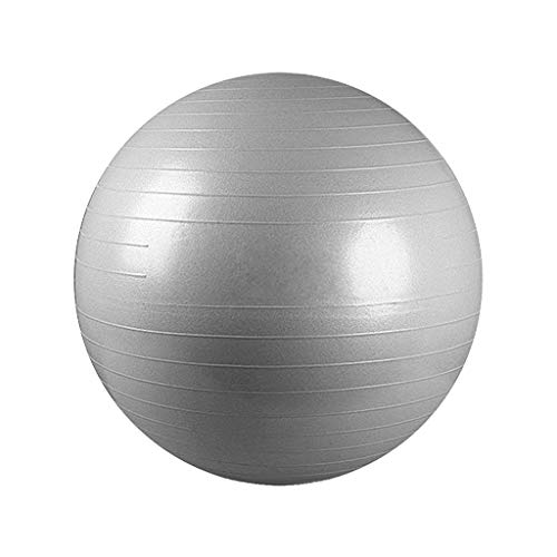 (Sodoop Yoga Exercise Ball 65cm/25.5inch for Extra Thick Fitness, Stability, Balance Exercise Ball- Anti Burst Tested Supports 2200lbs Fitness Equipment, Fitness Body, Health Massage (US Stock))