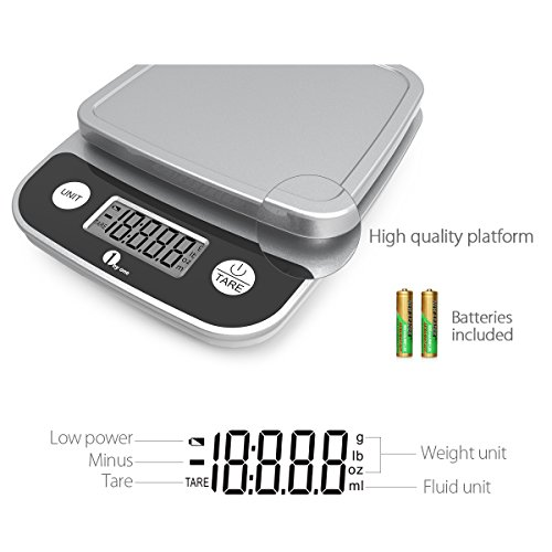 1byone digital kitchen scale precise cooking scale and for Kitchen scale for baking