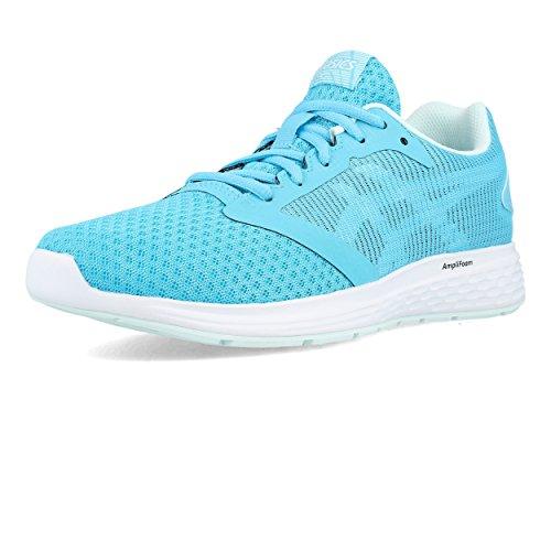 Asics Women's Patriot 10 Running Shoes Blue (Aquarium/White 400) v12W5DJv