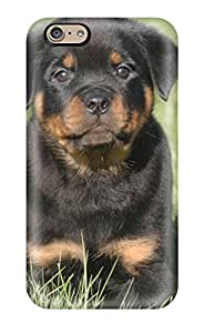 Premium Rottweiler Dog Back Cover Snap On Case For Iphone 6 Sending Free Screen Protector