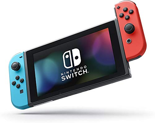 Nintendo Switch - Neon Red and Neon Blue Joy-Con - HAC 001 (Discontinued by Manufacturer)