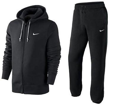 Nike mit Kapuze Durchgehender Reißverschluss Trainingsanzug