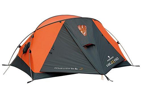 Ferrino Maverick 2 Highlab Tent, Orange, 2-Person by Ferrino