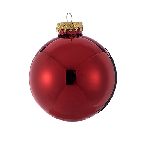 Shiny Red Ball Ornament - 9