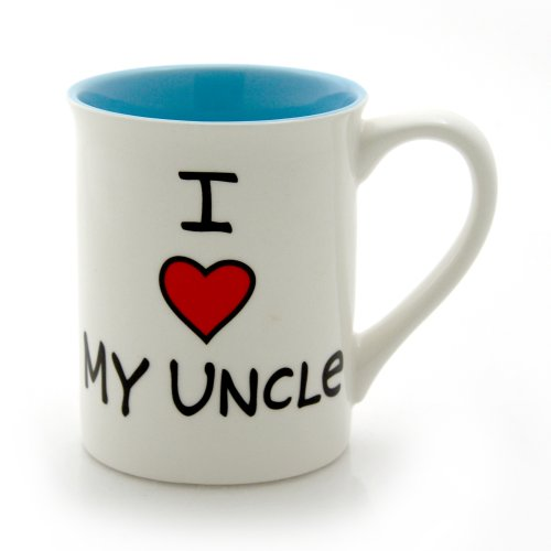 "Our Name is Mud ""I Heart My Uncle"" Stoneware Mug, 16 oz."