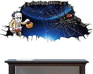 هالوين لتزيين ملصقات الحائط غرفة النوم غرفة المعيشة ديكور ملصقات الحائط