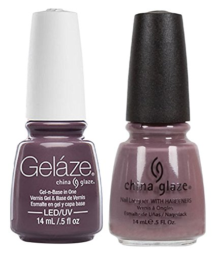 China Glaze Gelaze Tips and Toes Nail Polish, Below Deck, 2 Count