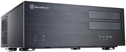 Silverstone Grandia GD08 HTPC Negro - Caja de Ordenador (HTPC, PC ...