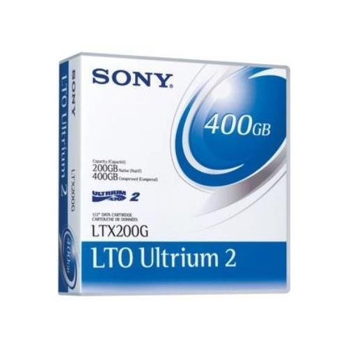 SONY LTX200GWW LTO 200GB/400GB Ultrium 2 Tape Cartridge by Sony