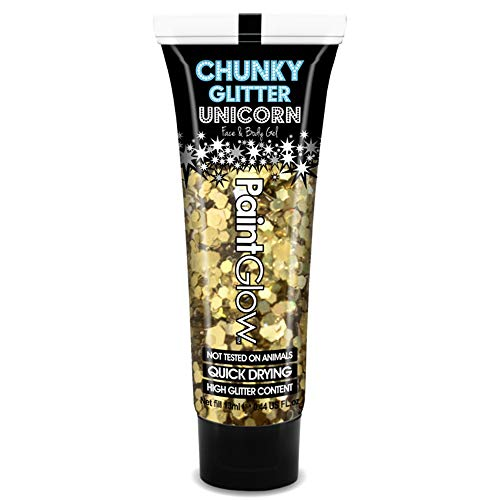 GOLD DIGGER CHUNKY GLITTER BODY GEL