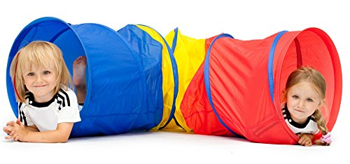 Kiddey 6-feet Kids Play Tunnel Tent, Children Exploration Di