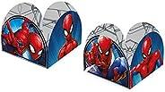 Porta Form 9.5x9.5cm R319 Spider Man Animacao - Pacote Com 50 Un Regina Colorido
