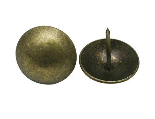 "Amanaote Metal 1"" Diameter Antique Brass Hardware"