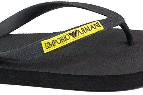 Armani Emporio Emporio Black infradito Armani Nero infradito Nero Black XIxSwqO