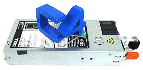 Dell Single, Hot-plug Power Supply (1+0), 750W, Titanium, 200-240, 1C8RF, KNHJV ((1+0), 750W, Titanium, 200-240 VAC,CusKit)