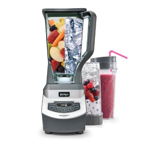 Ninja Professional Blender with Single Serve Blending Cups (BL660) image