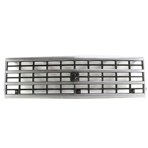 Koolzap For 92-96 Chevy Fullsize Van Front Grill Grille Assembly Argent GM1200360 15709687