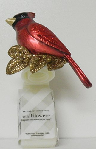 Ohio State Bird Flower (Bath and Body Works Red Bird Cardinal Wallflower Diffuser Plug in Unit)