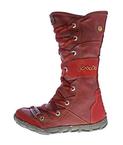 Rosso Aspetto Giallo Reptil Bianco Leather Marrone Blu Tma Shoes Womens Verde Rot Old Boots Winter Nero Foderato zFTwOvqxS