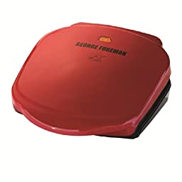 George Foreman GR10RM Champ Grill, Red
